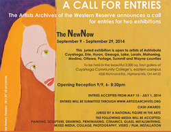 AAWR The NewNow call for entries postcard
